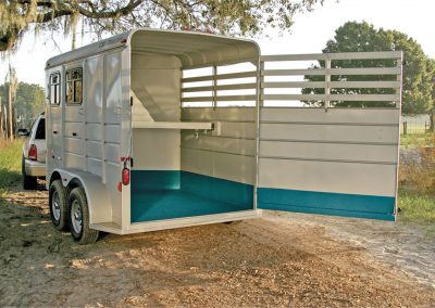 Horse Trailer Lined
