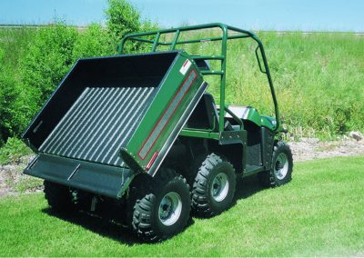 Golf Cart with Rhino liner